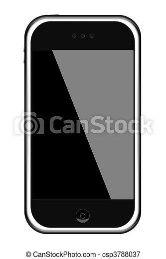 telefono mobile - csp3788037