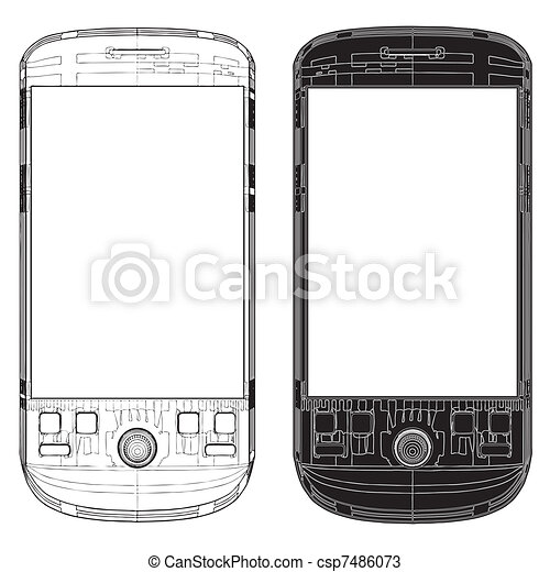 telefono mobile - csp7486073