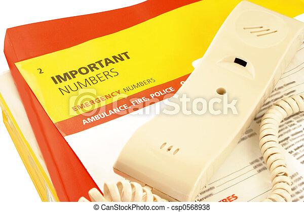 telefoon, directories - csp0568938