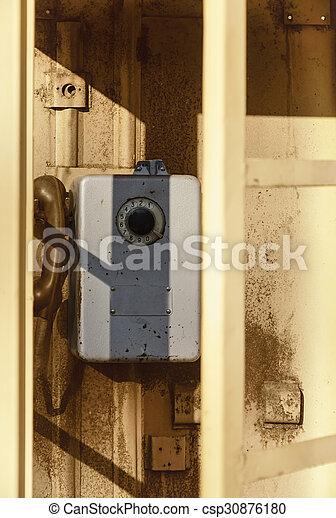 Telephone Booth - csp30876180