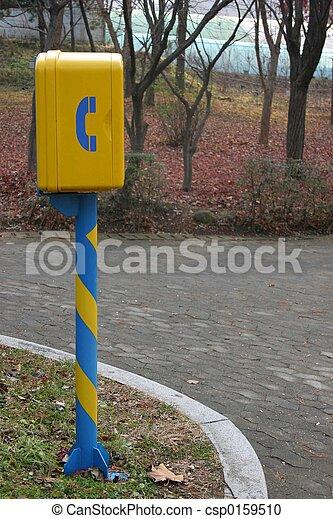 Telephone box - csp0159510