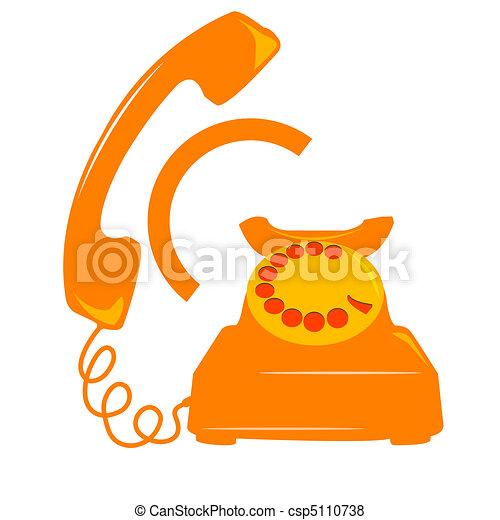 telephone icon - csp5110738