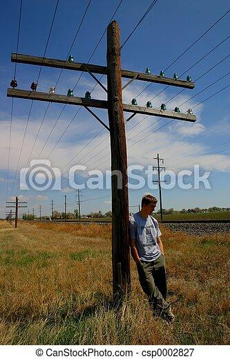Telephone Pole 4878 - csp0002827
