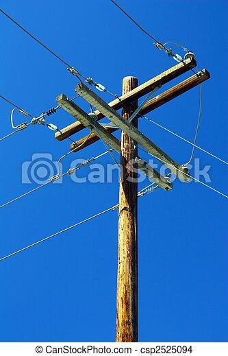 Telephone Pole - csp2525094