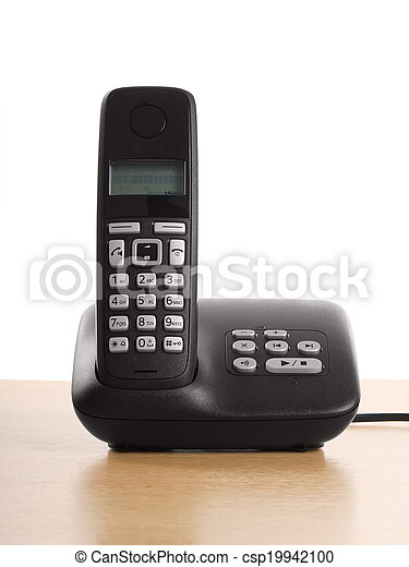 telephone with base station - csp19942100