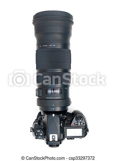 Telephoto Lens - csp33297372