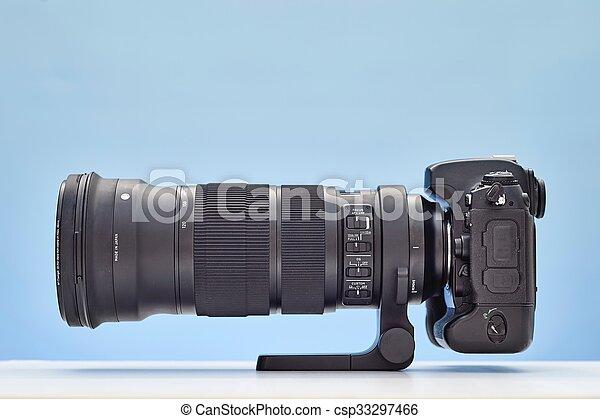 Telephoto Lens - csp33297466
