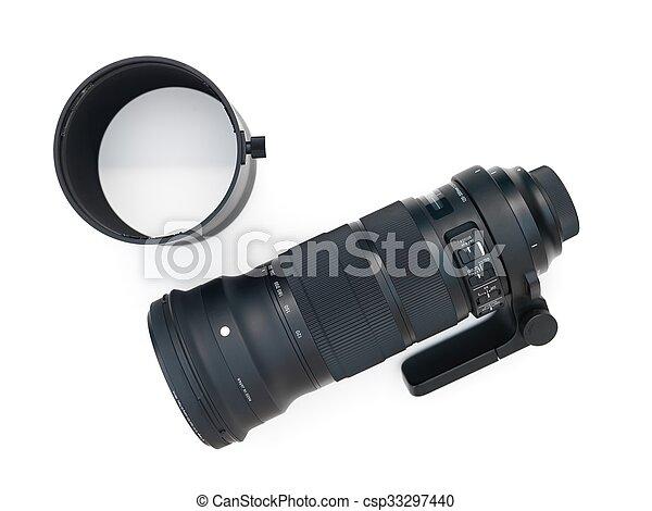 Telephoto Lens - csp33297440