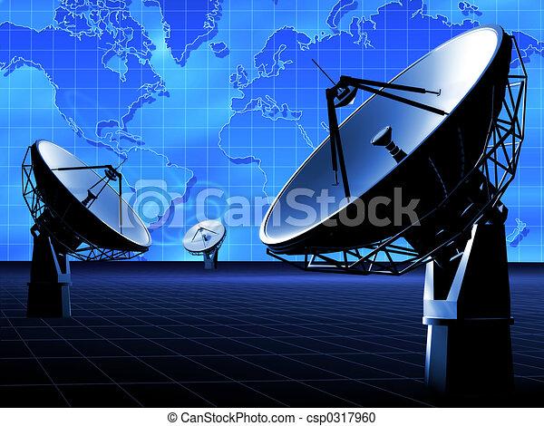 Radio TELESCOPE - csp0317960