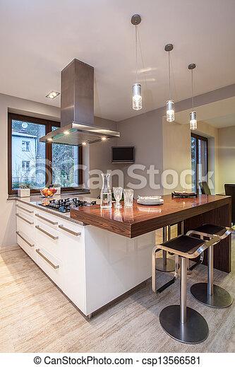 Television Cocina | Television Casa Travertine Cocina Gabinetes Travertine Casa