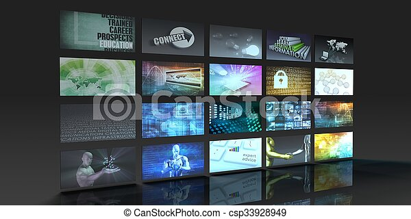 Television Production Technology - csp33928949