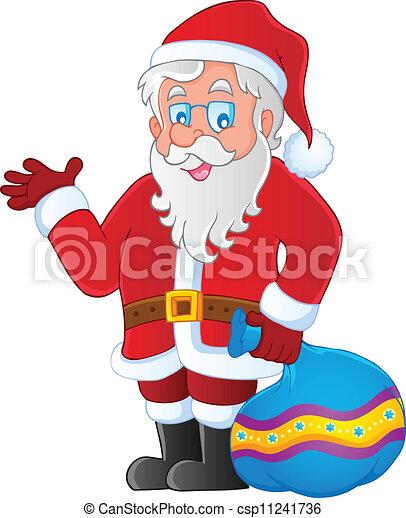 Santa Claus imagen temática 3 - csp11241736