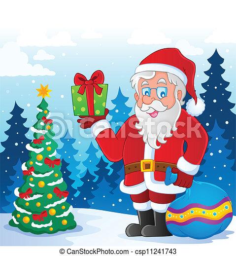 Santa Claus imagen temática 5 - csp11241743