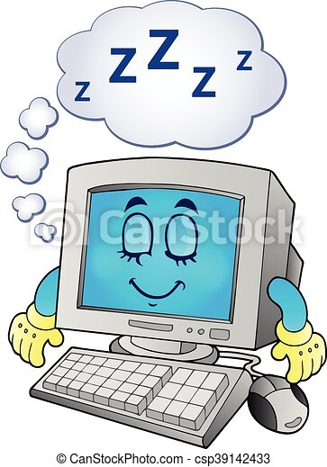 tema, computer - csp39142433