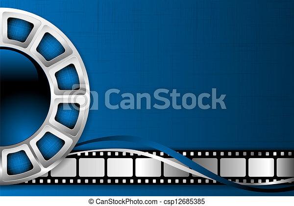 tema, fondo, cinema - csp12685385