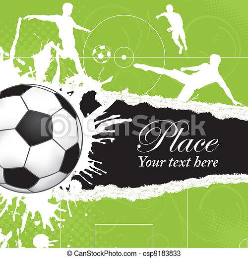 Tema de fútbol - csp9183833