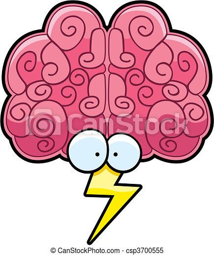 tempestad cerebro - csp3700555