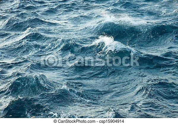 tempestuoso, ondas - csp15904914