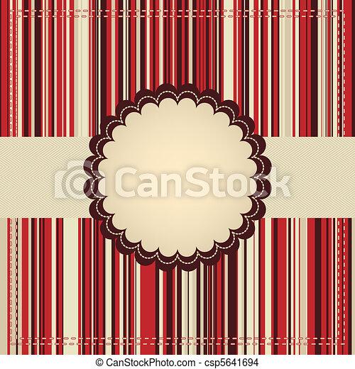 template., 8, eps, カード, 挨拶 - csp5641694