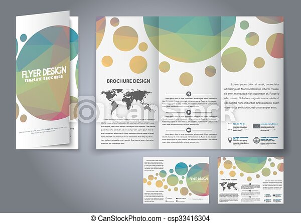 template design three fold flyer brochure design fold flyers