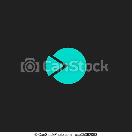 Template For Cycle Diagram Flat Simple Modern Illustration