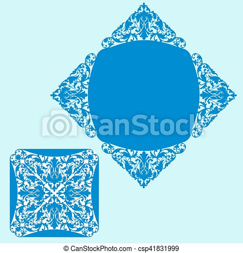 Template for greeting card - csp41831999