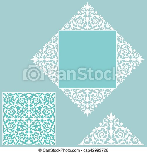 template for greeting card - csp42993726