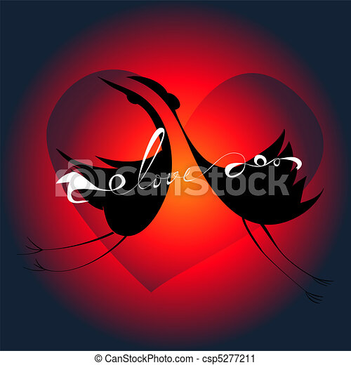 Template for greeting card - csp5277211