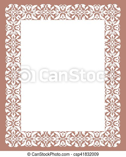 Template for greeting card - csp41832009