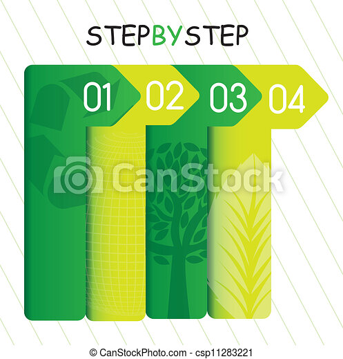 template of numbers - csp11283221