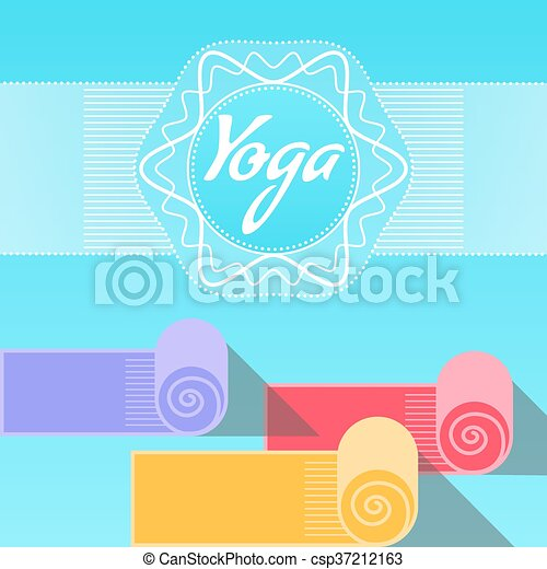 Template Of Poster For Yoga Day