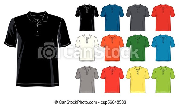 template t shirt polo for men 03 design vector t shirt template