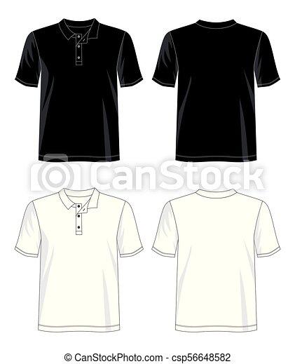 template t shirt polo for men 04 design vector t shirt template