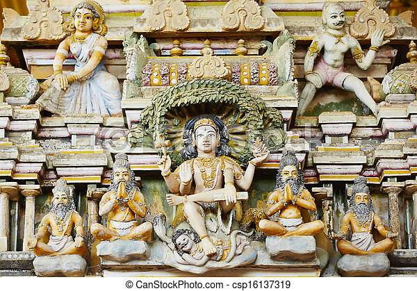 temple hindou - csp16137319