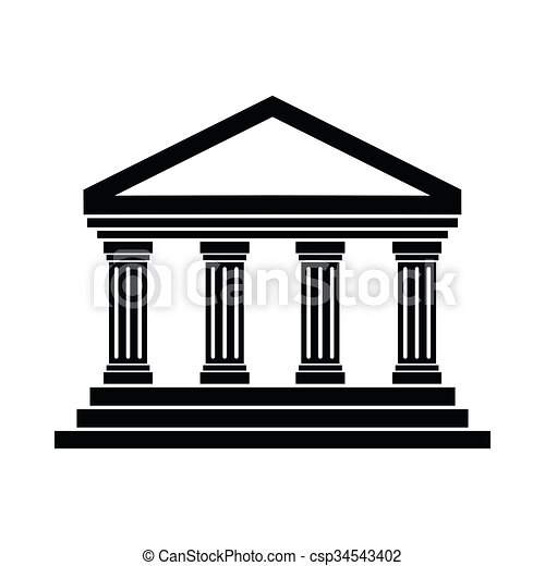 temple of concordia at agrigento italy icon in simple style rh canstockphoto co uk lds temple clipart temple clipart lds
