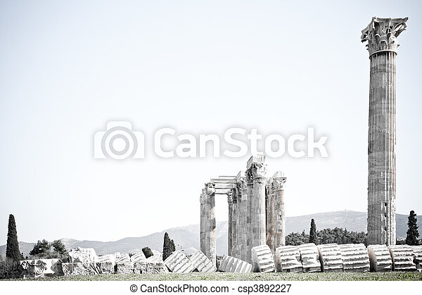 Temple of Zeus - csp3892227