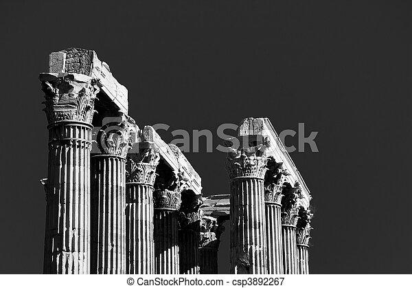 Temple of Zeus - csp3892267