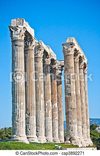 Temple of Zeus - csp3892271