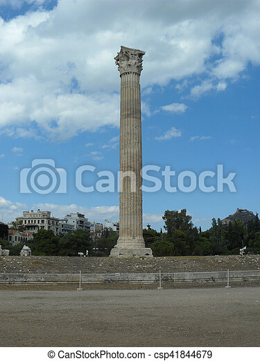 Temple of Zeus - csp41844679