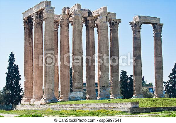 Temple of Zeus - csp5997541