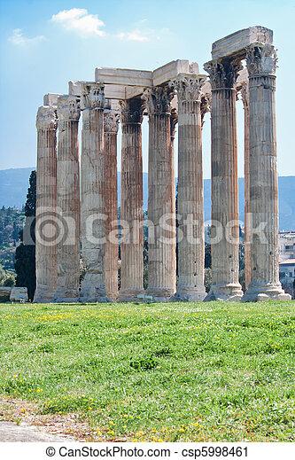 Temple of Zeus - csp5998461