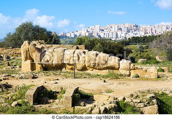 Temple of Zeus - csp18624186