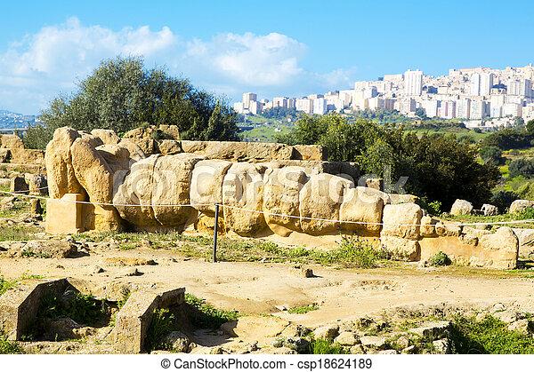 Temple of Zeus - csp18624189