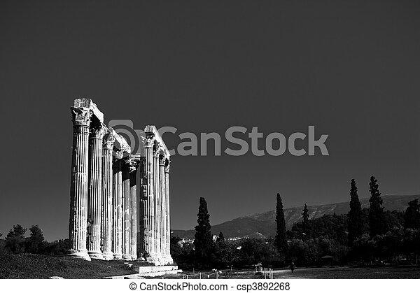 Temple of Zeus - csp3892268