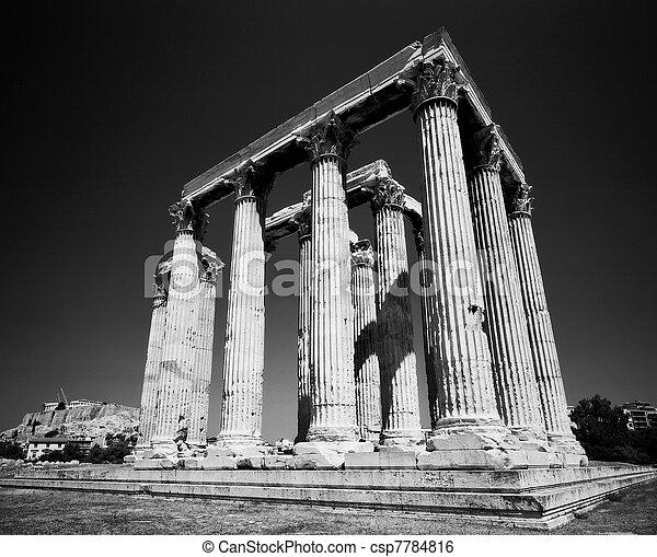 Temple Of Zeus - csp7784816