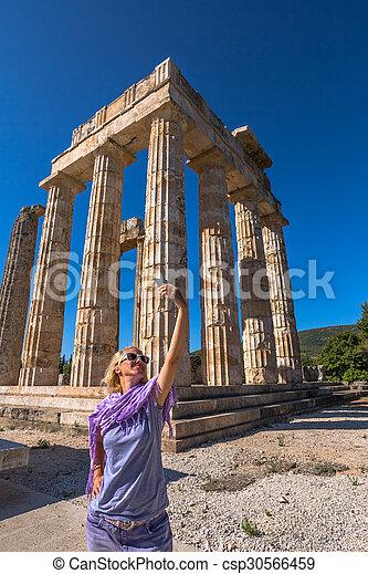 Temple of Zeus - csp30566459