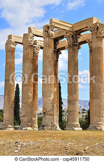 Temple of Zeus - csp45911750