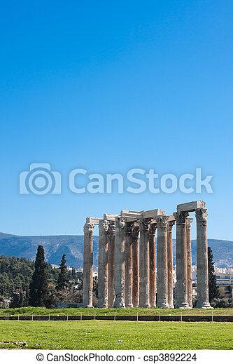 Temple of Zeus - csp3892224