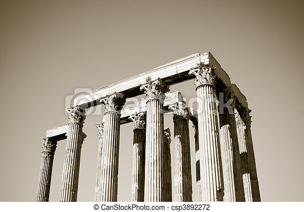 Temple of Zeus - csp3892272