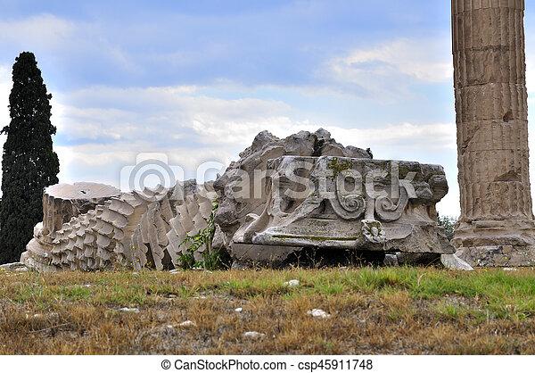 Temple of Zeus - csp45911748